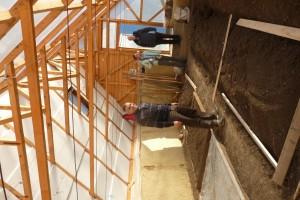 Serre en construction